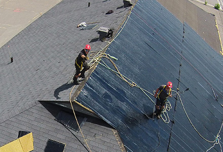 Professionnal roofer