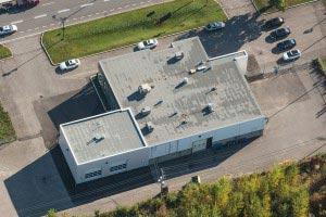 Toiture en membrane élastomère à Laval