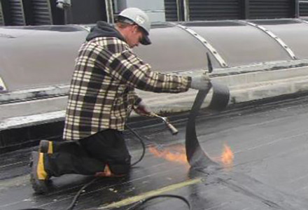 Elastomeric Membrane Roof Toitures Pme